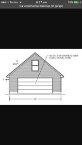 Construction drawings needed for Garage Northcote Darebin Area Preview