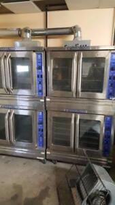 IMPERIAL DOUBLE STACK CONVECTION OVENS