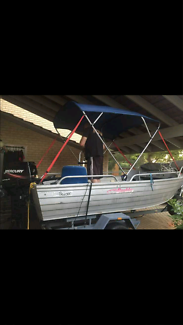 4.2m Stacer with Canopy