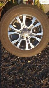 Ford Ranger Wildtrak Rims Full set McGraths Hill Hawkesbury Area Preview