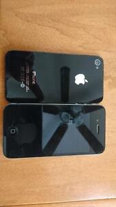 8 Gig Iphone 4 and Samsung Galaxy Discovery 3 Gig