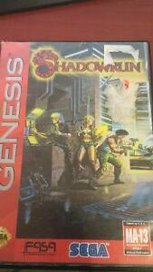 (RARE)Shadowrun for Sega Genesis