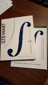 Math 110 Calculus textbook and solution manual