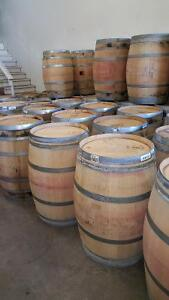 Brandy, Bourbon, Whiskey & Wine Barrels