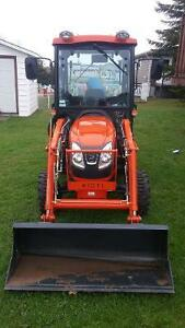 2015 Kioti Tractor with loader, snowblower and bush cutter