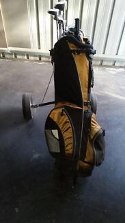 Golf Set with Buggy.