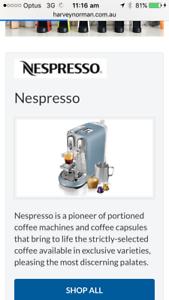Nespresso Creatista Coffee Machine Parramatta Parramatta Area Preview