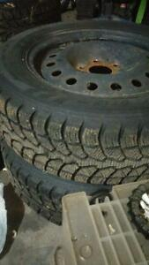 Rimmed Winter Tires - Reduced Price