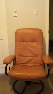 Moving Sale - leather chair