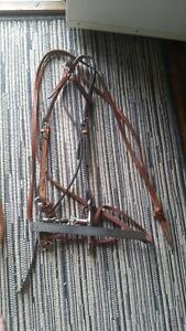 "Futurity Knot Headstall with reins and 5"" bit Strathcona County Edmonton Area image 1"