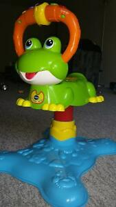 vtech Count & Colors Bouncing Frog - sit & bounce toy