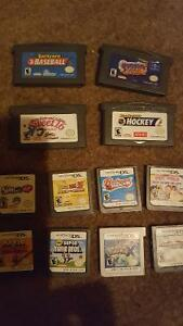 12 DS and Game Boy Advance games.