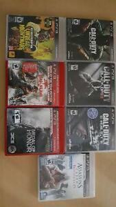 Call of Duty Black Ops/ Black Ops 2/ Ghosts and others