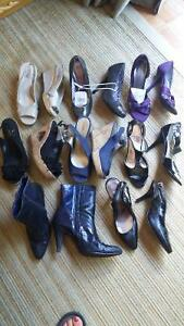 VARIOUS SIZE 5 WOMEN'S SHOES , SANDALS AND BOOTS