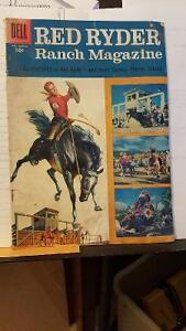 Red Ryder Ranch Magazine #146 January 1956 in good to Fair Shape
