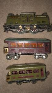 "1926-35 ""O"" Gauge , Lionel Train Cars"