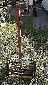Maxwells Cast Iron Lawn Mower Made in Canada St Marys Ontario
