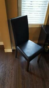 Ikea Henkriksdal Leather Chair - like new London Ontario image 1