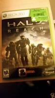 Halo:Reach Xbox 360 recycled game