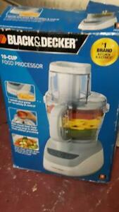 black and decker 10 cup food processor