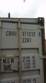 40' Shipping Containers delivered to Cobaw for just 3250