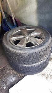chevy cavalier stock rims and brand new winters