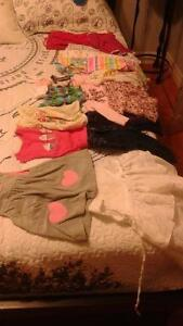 lightly worn baby girl clothes