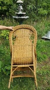 Victorian Rattan Chair by Gendron MFG Kingston Kingston Area image 5