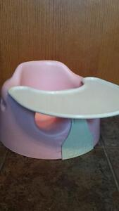 Bumbo Seat and Tray - Light Pink