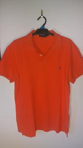 Large Orange Ralph Lauren Polo Shirt Cleveland Redland Area Preview
