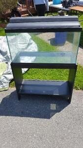 29 Gallon aquarium with Stand