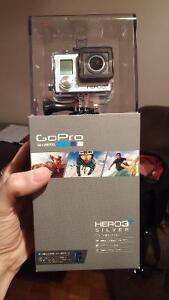 Go Pro Hero 3+ Silver unboxed