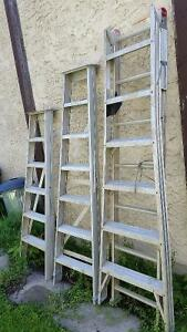 3 different step ladders $50-100 Depending on type/size