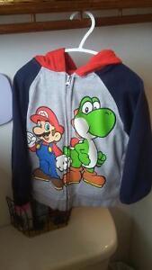 Mario and Yoshi Sweater - 5t
