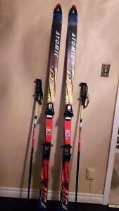 Atomic Atc 9 downhill skis...$30