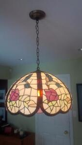 Tiffany Ceiling Lamp - Stained Glass Kitchener / Waterloo Kitchener Area image 1