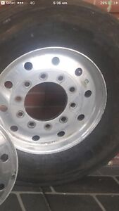 ALCOA 9 inch OFFSET STEER RIMS Morayfield Caboolture Area Preview