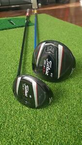 Titleist 913 D2 Driver & Fd15 Fairway Wood (Right Handed)