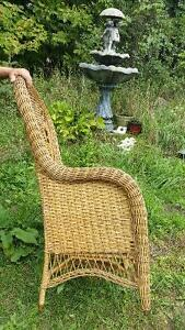 Victorian Rattan Chair by Gendron MFG Kingston Kingston Area image 3