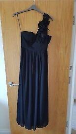 Black Prom/bridesmaid/evening Dress Size 14