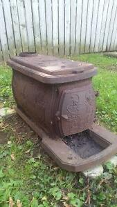Wood stove  great for ice shack  or garage