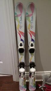 "Skis (39""), Boots (18.5) and Bindings Girls West Island Greater Montréal image 2"