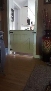Barn door baby gates from $100 London Ontario image 1