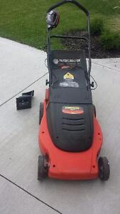 Battery operated lawn mower!