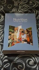 Nutrition through the life cycle textbook