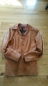 Beautiful Leather Fall Coats, rain coat and snow suit West Island Greater Montréal image 1