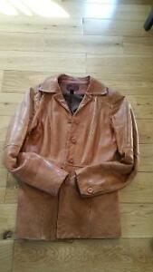 Beautiful Leather Fall Coats, rain coat and snow suit