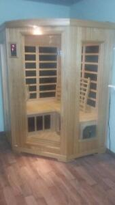 3 Person Corner INFRARED SAUNA