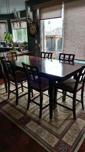 Dining table and chairs Cambridge Kitchener Area image 2