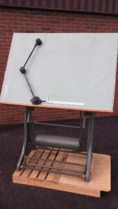 Vintage FRANZ KUHLMANN drafting table